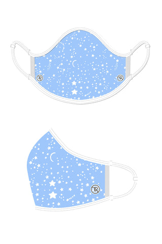 Kids Face Mask - Blue Star