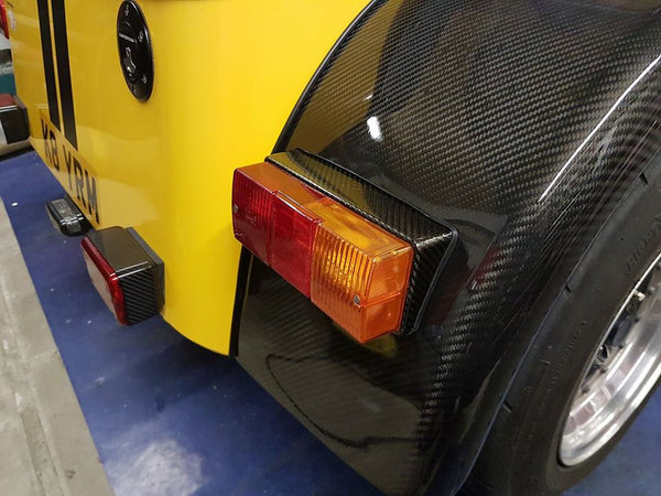 Pair of rear light blocks