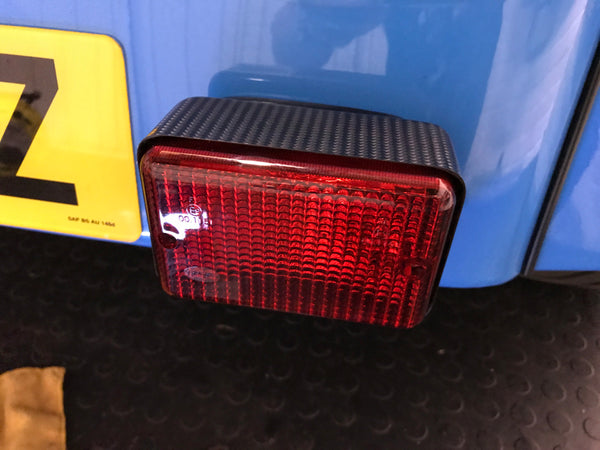 Rear Fog and Reverse light boxes (Pair)