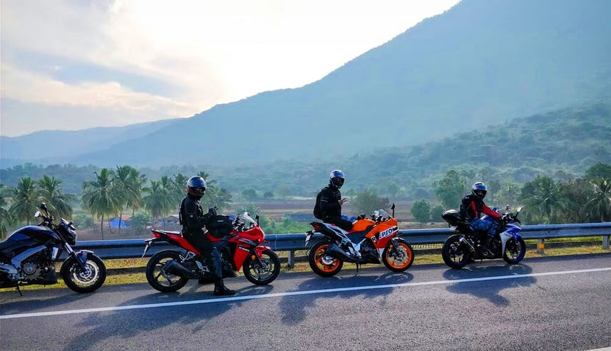 How do you need to be prepared for your first motorcycle road trip?