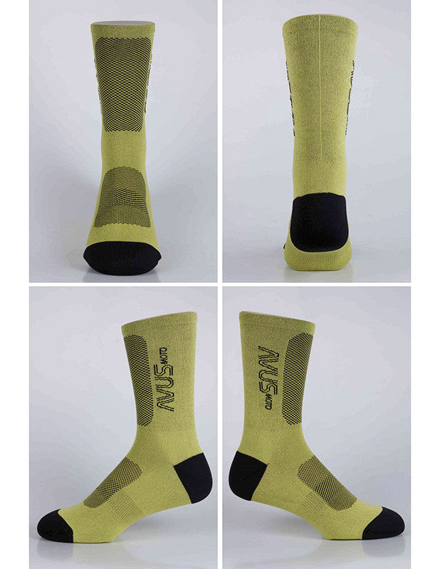 Avus Socks Yellow