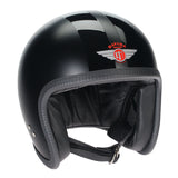 DAVIDA SPEEDSTER V3 HELMET – MATT BLACK/ DOUBLE BLACK STRIPE
