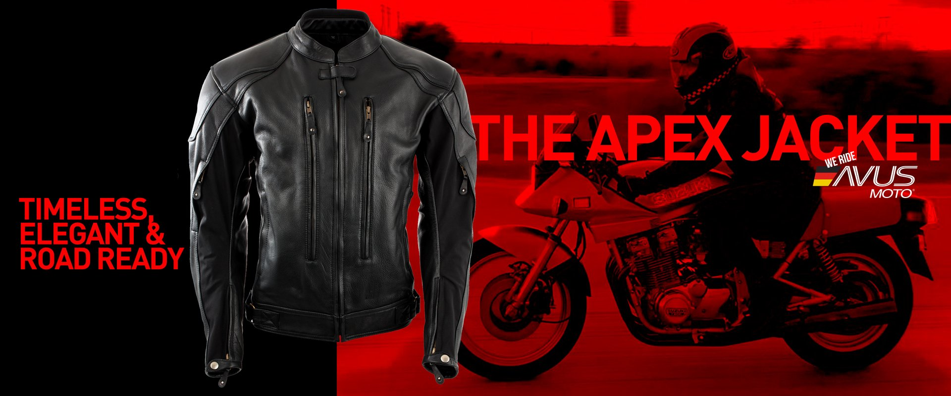 Clothing and accessories for motorcyclists