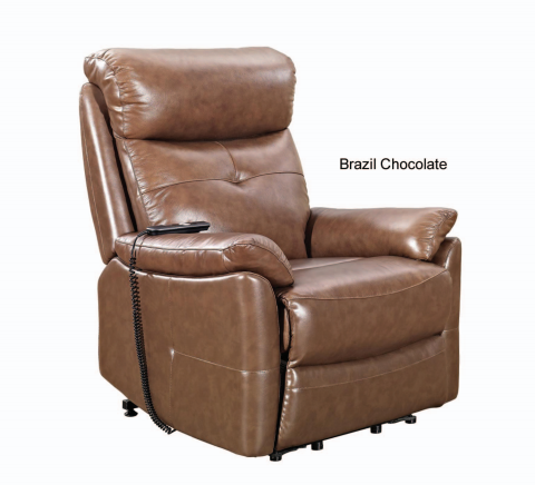 Massaging Brazil Power Lift Chair made by Stanley - Available in 2 Colours-Wholesale Furniture Brokers