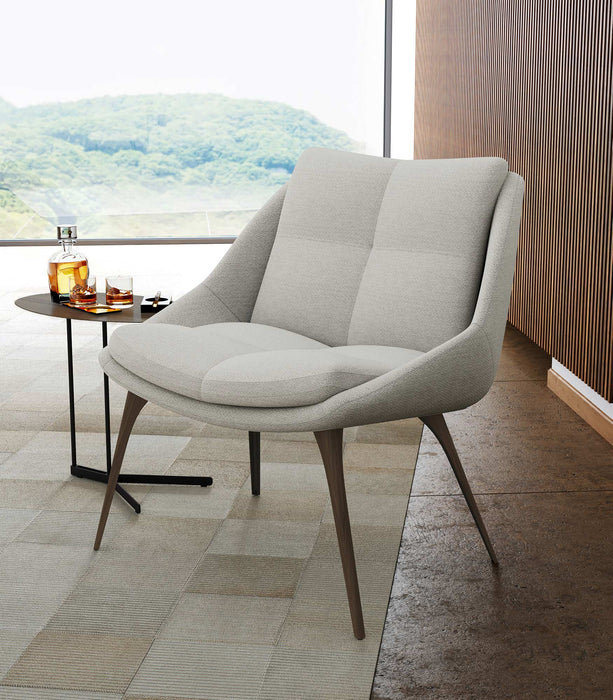 Columbus Upholstered Lounge Chair - Available in 2 Colors