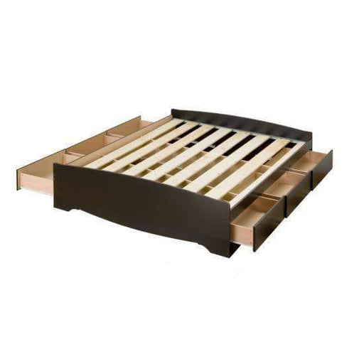 Mate's Platform Storage Bed with 6 Drawers - Multiple Options Available-Wholesale Furniture Brokers