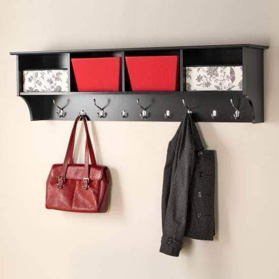 60 inch Wide Hanging Entryway Shelf - Multiple Options Available-Wholesale Furniture Brokers