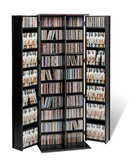 Grande Locking Media Storage Cabinet with Shaker Doors - Multiple Options Available