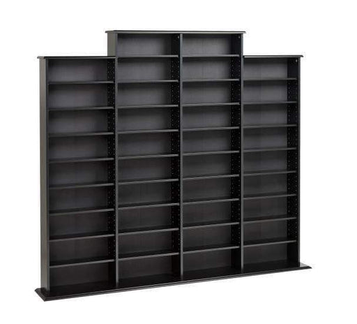 Black Quad Width Wall Storage-Wholesale Furniture Brokers