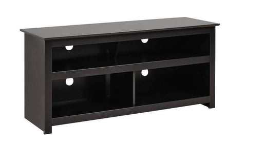 Black Vasari Flat Panel Plasma / LCD TV Console-Wholesale Furniture Brokers