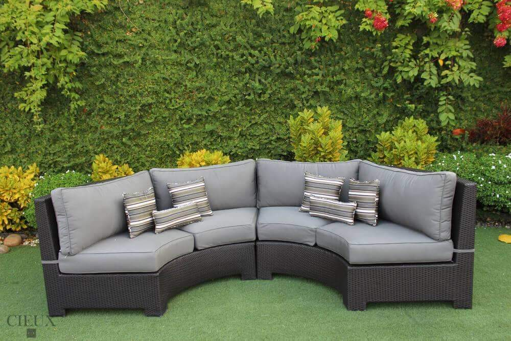 Provence Curved Small Sectional - Available in 3 Colours