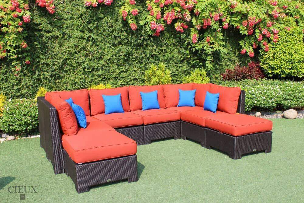 Provence Medium Corner Sofa Set - Available in 3 Colours-Wholesale Furniture Brokers