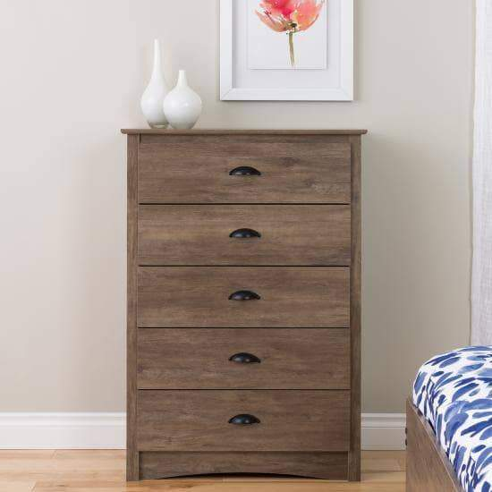 Salt Spring 5 Drawer Chest-Wholesale Furniture Brokers