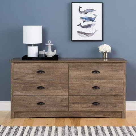 Riverdale 6 Drawer Chest - Multiple Options Available