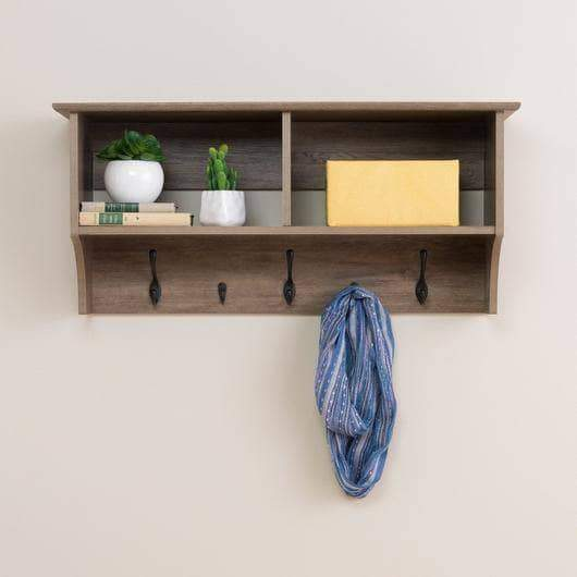36 Inch Wide Hanging Entryway Shelf - Multiple Options Available-Wholesale Furniture Brokers