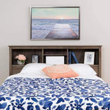 Riverdale Double / Queen Bookcase Headboard - Multiple Options Available