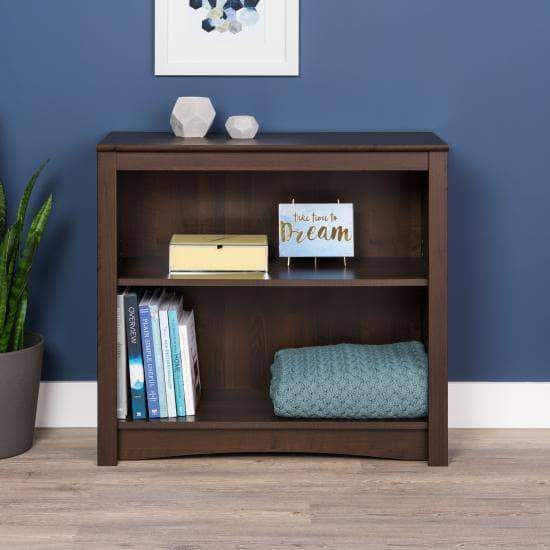 Two Shelf Bookcase - Multiple Options Available