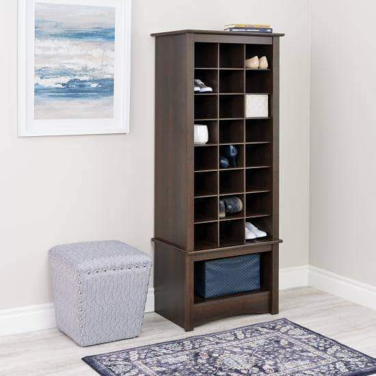 Tall Shoe Cubbie Cabinet - Multiple Options Available-Wholesale Furniture Brokers