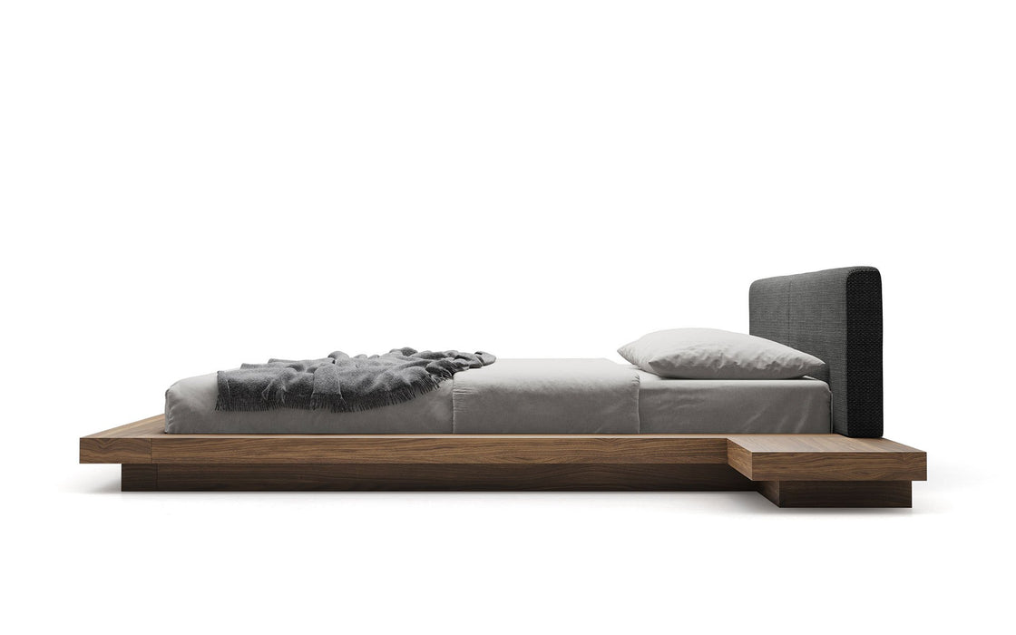 Worth Eco-Leather Platform Bed - Available in 5 Colors and 3 Sizes