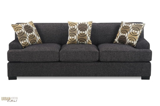Hayward Linen Sofa in Ash Black or Sandstone Linen Fabric-Wholesale Furniture Brokers