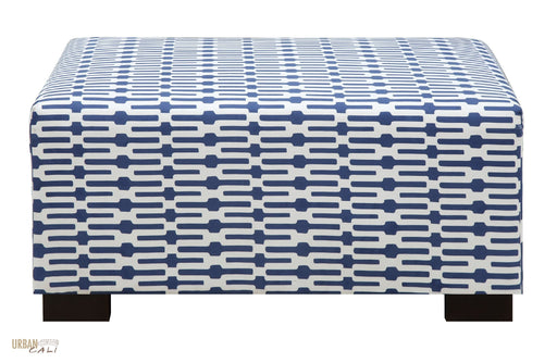 Hayward Dash Design Ottoman-Wholesale Furniture Brokers