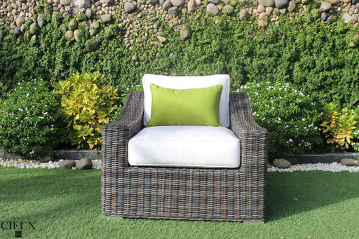 Marseille Natural Canvas Club Chair-Wholesale Furniture Brokers