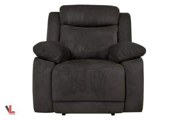 Volo Charcoal Fabric Recliner Chair