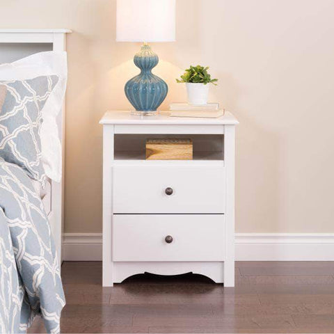 White-Monterey-Tall-2-Drawer-Nightstand-with-Open-Shelf
