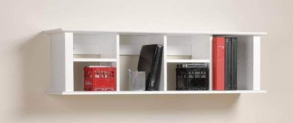 Wall Mounted Desk Hutch - Multiple Options Available-Wholesale Furniture Brokers