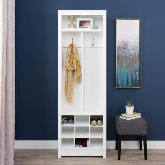 Space-Saving Entryway Organizer - Multiple Options Available-Wholesale Furniture Brokers