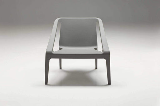 Mobital Accent Chair Grey Yumi Lounge Chair Grey Polypropylene Set of 4 - Available in 2 Colors
