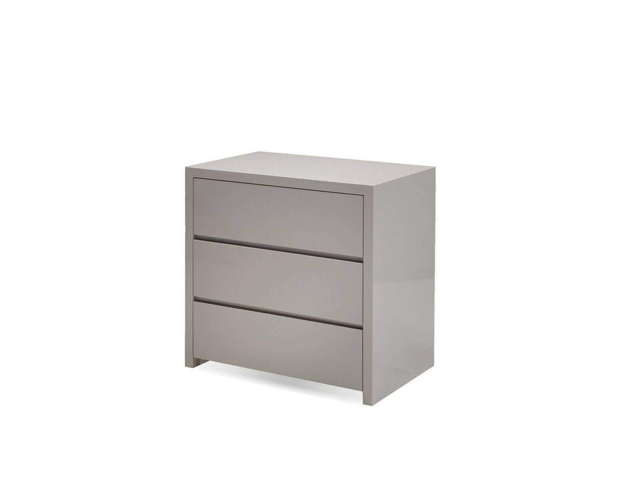 Mobital Dresser Stone Blanche Half Dresser High Gloss - Available in 2 Colors