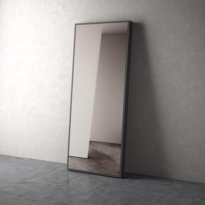 Modloft Grey Oak Greene Mirror in Wenge