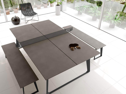 Modloft Ping Pong Table Grey Concrete Amsterdam Ping Pong Table