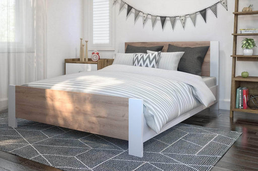 Modubox Bed Sirah Full Platform Bed - Available in 2 Colors