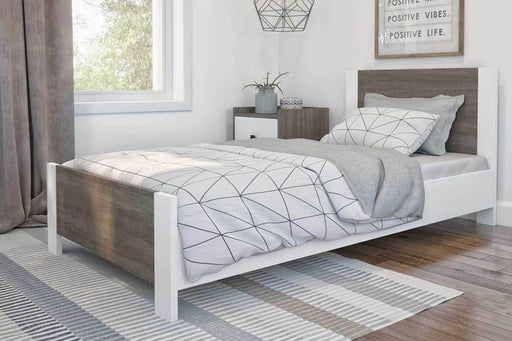 Modubox Bed Sirah Twin Platform Bed - Available in 2 Colours