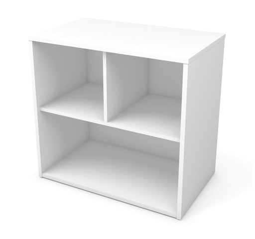 Modubox Bookcase White i3 Plus Low Storage Unit - White