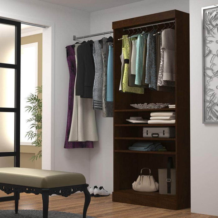 "Modubox Closet Storage Pur 36"" Closet Organizer Storage Unit - Available in 3 Colors"