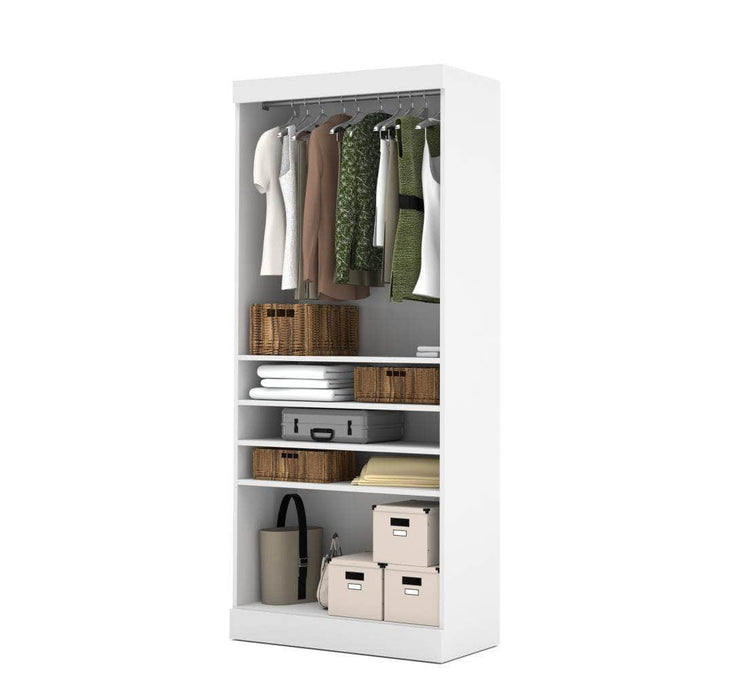 "Modubox Closet Storage White Pur 36"" Closet Organizer Storage Unit - Available in 3 Colors"