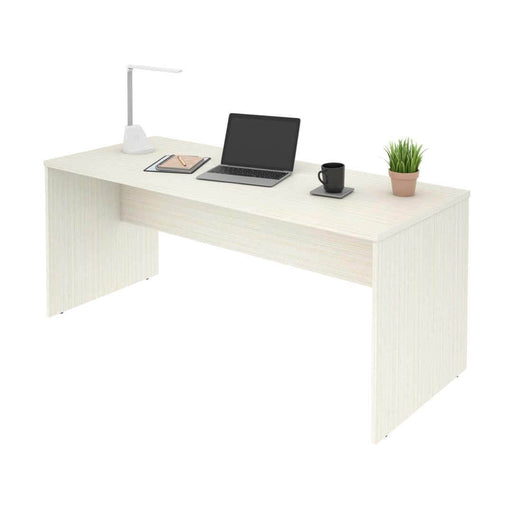 Modubox Computer Desk White Chocolate i3 Plus Desk Shell - Available in 2 Colors