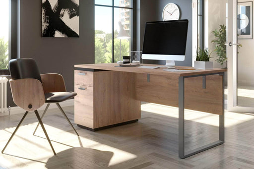 Modubox Desk Aquarius Desk with Single Pedestal - Available in 4 Colors