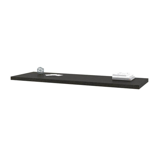 Modubox Desk Bridge Bark Grey Pro-Linea Desk Bridge - Deep Grey
