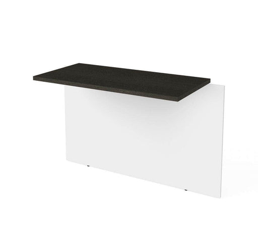 Modubox Desk Bridge White & Deep Grey Pro-Concept Plus Desk Bridge - Available in 2 Colors