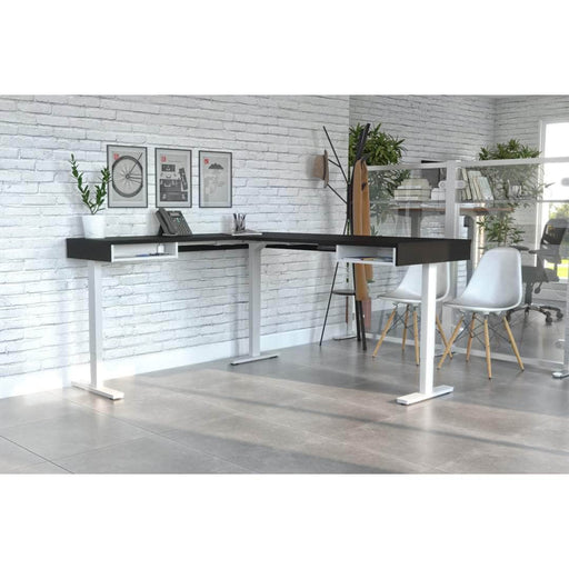 Modubox Desk Viva L-Shaped Standing Desk - Available in 2 Colors