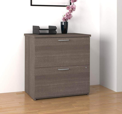 Modubox File Cabinet Bark Grey Logan Lateral File Cabinet - Available in 5 Colors
