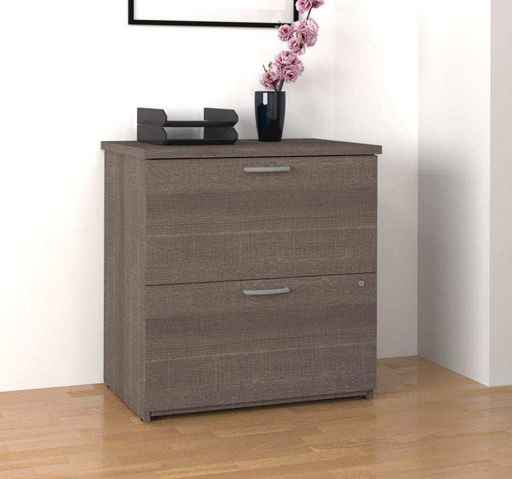 Modubox File Cabinet Bark Grey Logan Lateral File Cabinet - Available in 5 Colours