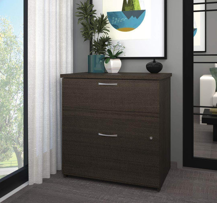Modubox File Cabinet Dark Chocolate Logan Lateral File Cabinet - Available in 5 Colors