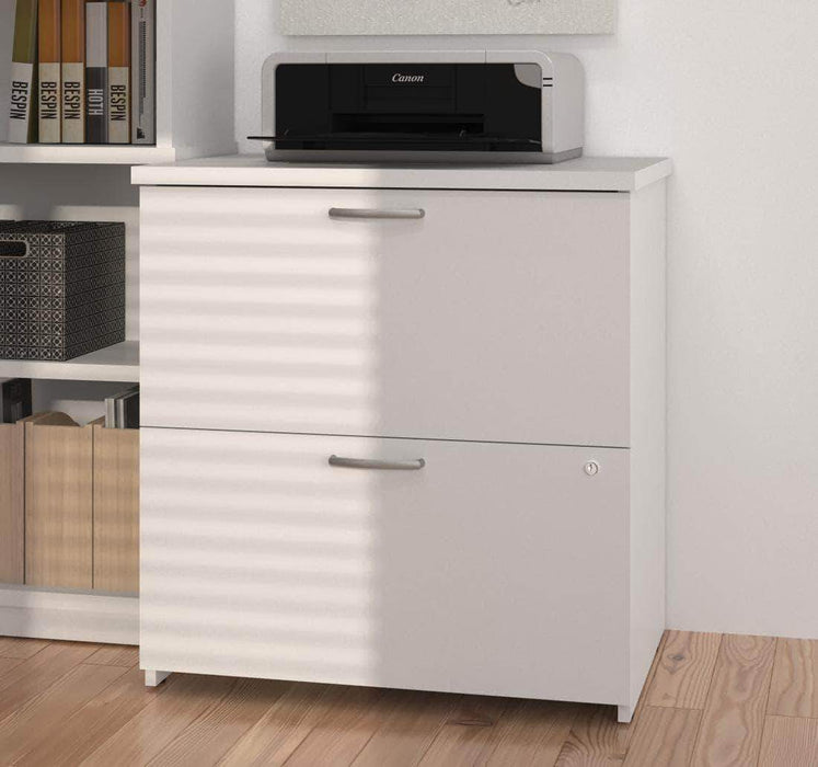 Modubox File Cabinet White Logan Lateral File Cabinet - Available in 5 Colors