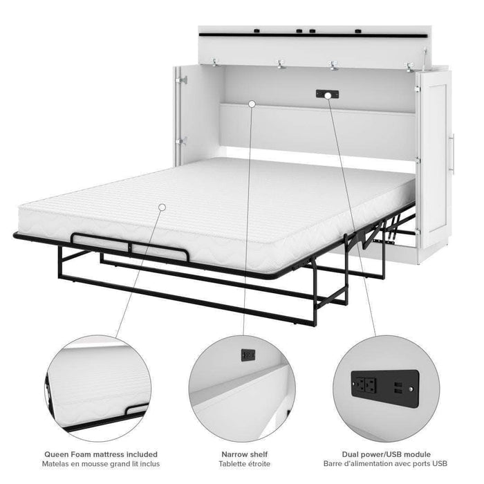 Modubox Murphy Cabinet Bed Pur Murphy Cabinet Bed - Available in 3 Colors
