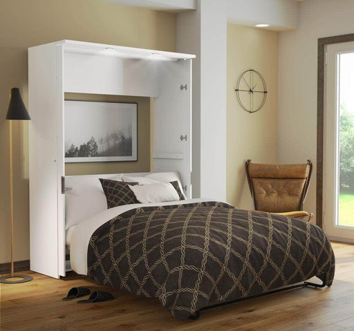 Modubox Murphy Wall Bed Lumina Full Size Wall Murphy Bed